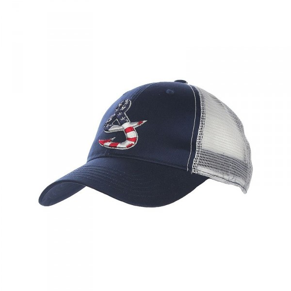 Hook & Tackle Old Glory Fishing Hat