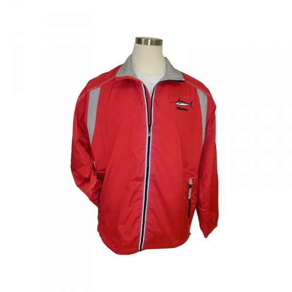 Nantucket Bound Custom Embroidered Color-Block Nylon Jacket