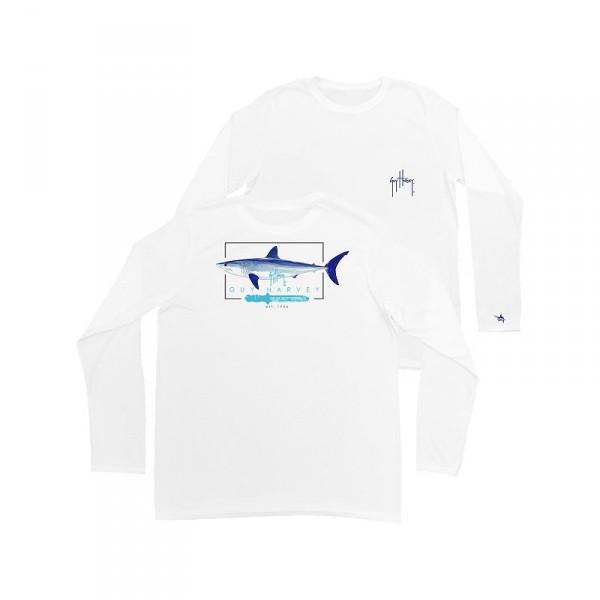 Guy Harvey Blades Pro UVX Performance Youth Long Sleeve Shirt
