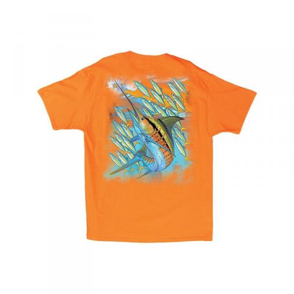 Guy Harvey Hot Marlin Rainbow T-Shirt