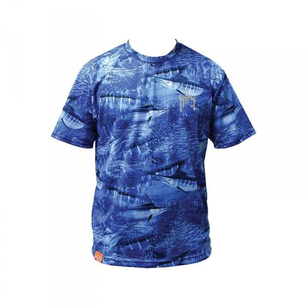 Guy Harvey Legend Boys Camo Performance T-Shirt