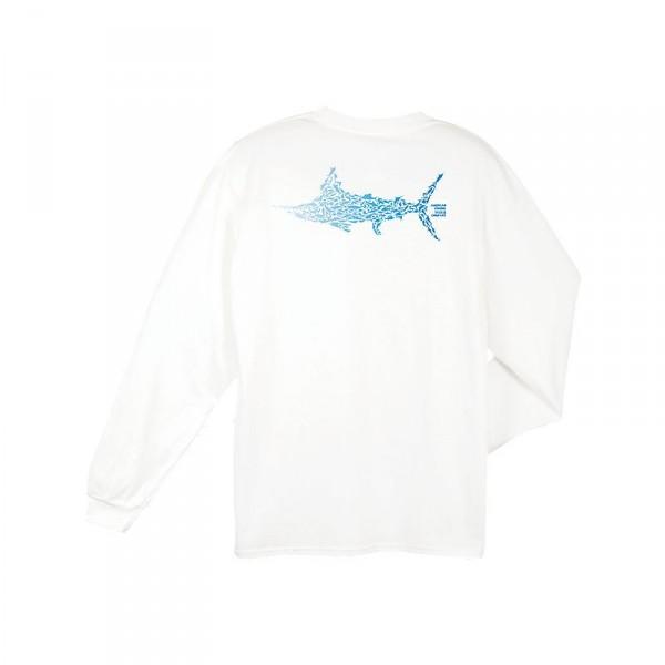 AFTCO Marlin Puzzle Pocket Long Sleeve Shirt