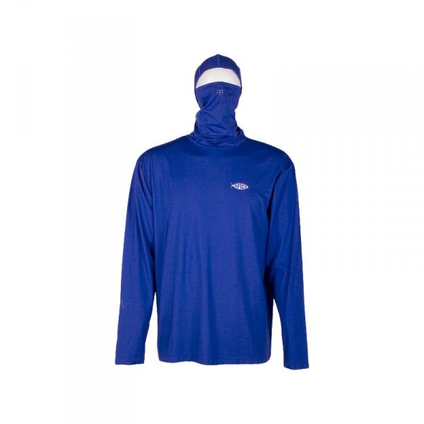 AFTCO Fish Ninja Ultra Performance Long Sleeve Shirt w/Hood