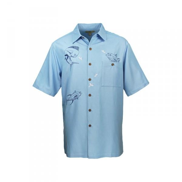 Hook & Tackle Fish Bounty Buttondown Shirt