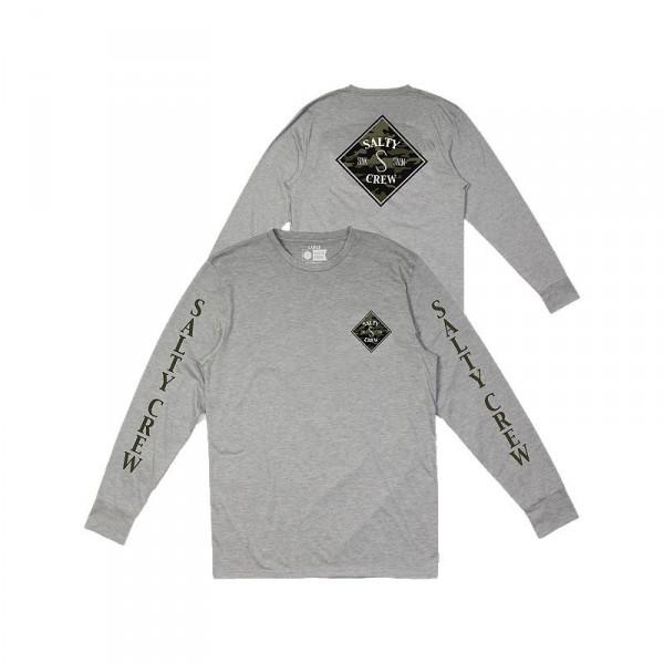Salty Crew Tippet Camo Tech Long Sleeve Shirt
