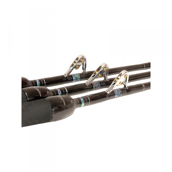 Black Bart Blue Water Pro Roller Stand Up Rod