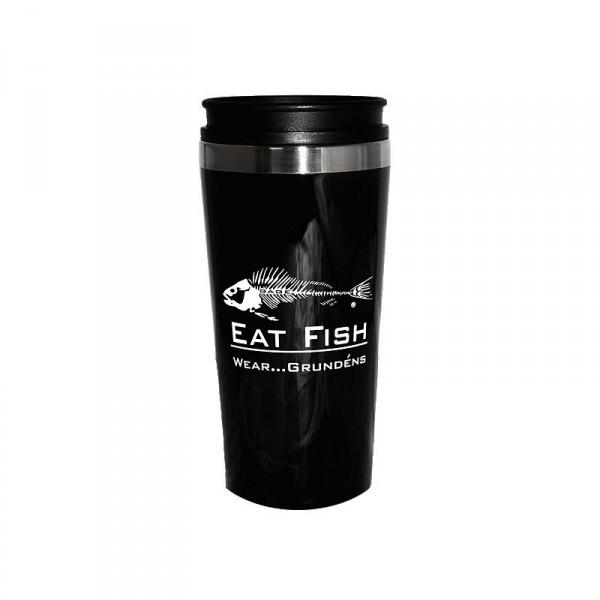 Grundens Eat Fish Travel Mug