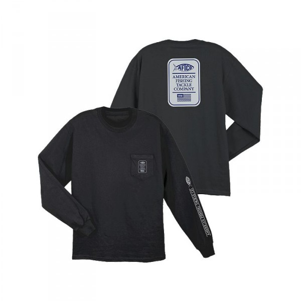 AFTCO Big Boy Pocket Long Sleeve Shirt