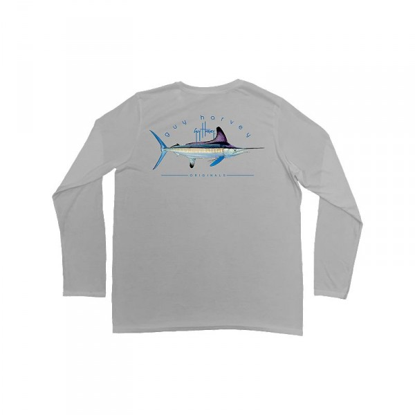 Guy Harvey Clipper Pro UVX Performance Long Sleeve Shirt