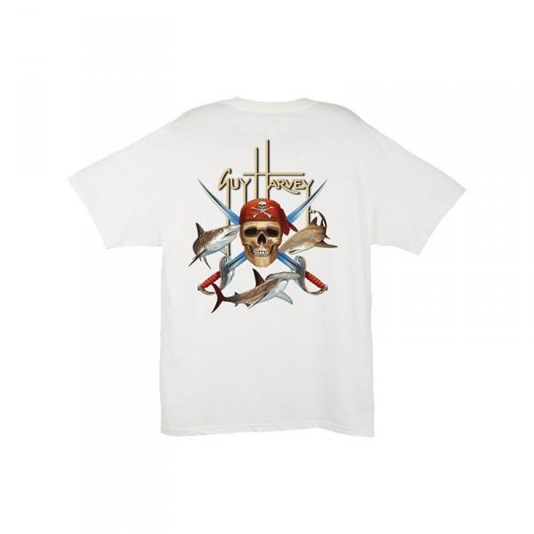 Guy Harvey Pirate Shark T-Shirt