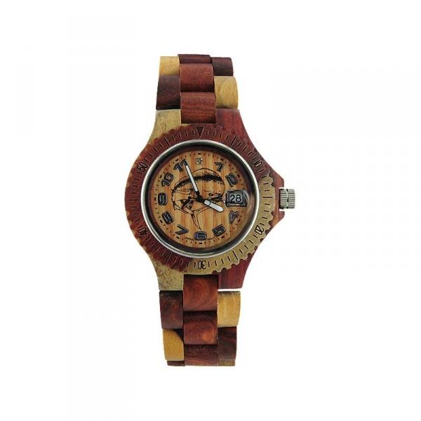 Tense Custom Mahi Wood Sport Watch