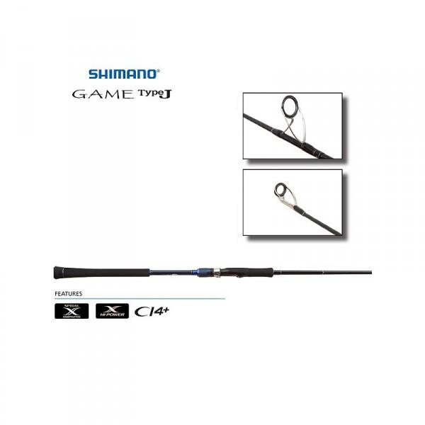 Shimano Game TypeJ Jigging Spinning Rods