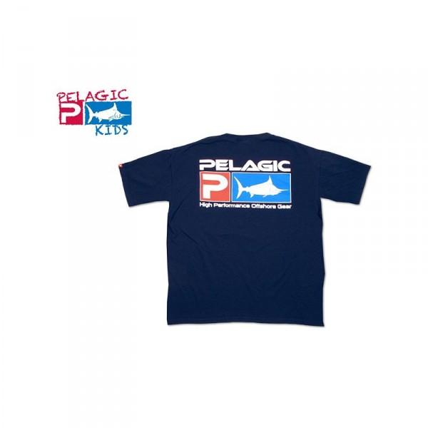 Pelagic Deluxe Logo Youth T-Shirt