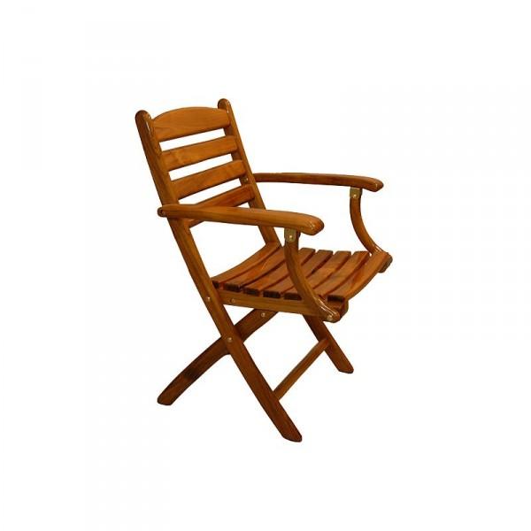 Release Marine Teak Folding Chair