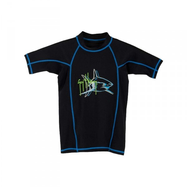 Guy Harvey Mako Attack Boys Rash Guard
