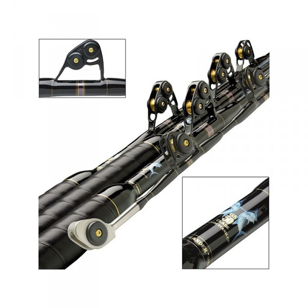 Melton Tackle Grander Series Stand-Up Rods
