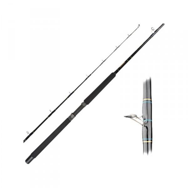 Seeker Black Steel Live Bait Rods