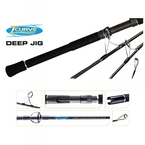 Shimano T-Curve Deep Jig Conventional Rods