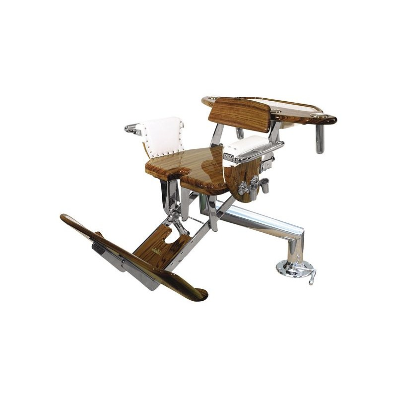 ... Release Marine Fighting Chairs   Unlimited Class Tuna Chair   Teak