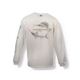 Hook & Tackle Marlin & Sailfish X-Ray Solar System Long Sleeve Shirt