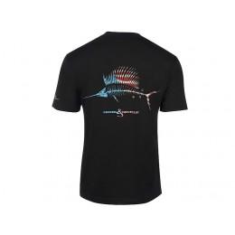 Hook & Tackle American Sailfish X-Ray Solar System T-Shirt