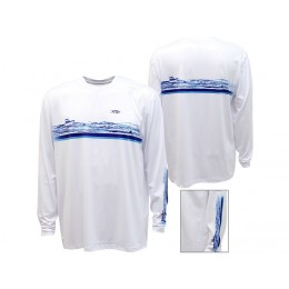 AFTCO Too Choppy Performance Long Sleeve Shirt