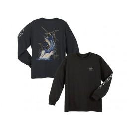 Guy Harvey Swordfish Strike Long Sleeve Shirt