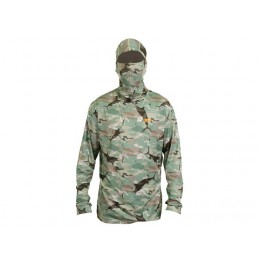 AFTCO Fish Ninja 2 Ultra Performance Long Sleeve Shirt w/Hood