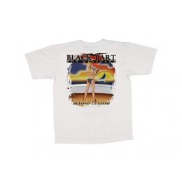 Black Bart Girl Beyond Custom T-Shirt