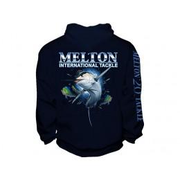 Melton Tackle 20th Anniversary Marlin Pullover Hoody