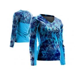 Huk Kryptek Ladies Icon Long Sleeve Shirt