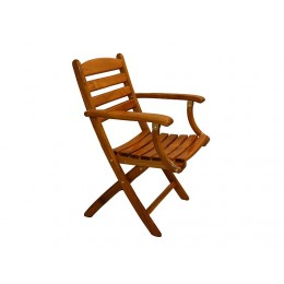 Release Marine Teak Folding Chair